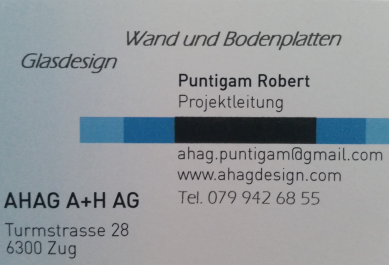 AHAG A + H AG Glasdesign