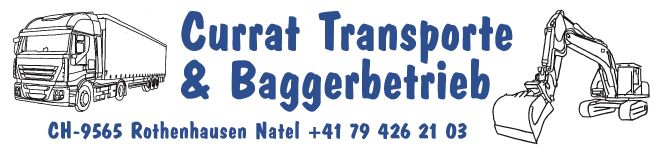 Currat Transporte & Baggerbetrieb